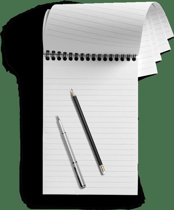 Ibiza Calm Notepad